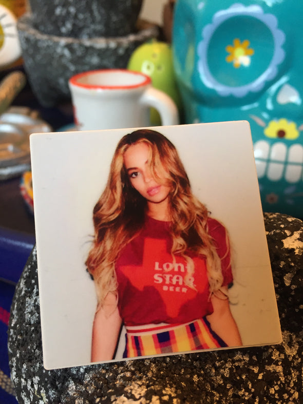 Texas Queen Bey Sticker by Very That 2x2 inches