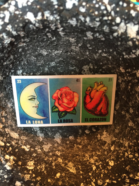Loteria Sticker by Very That  weather / waterproof perfect for your journals, planners, bike, car, etc!