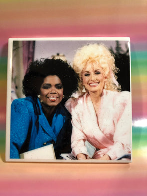 Oprah and Dolly Tile | Coaster | by VeryThat