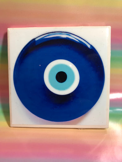 Mal Ojo Tile | Coaster | by VeryThat