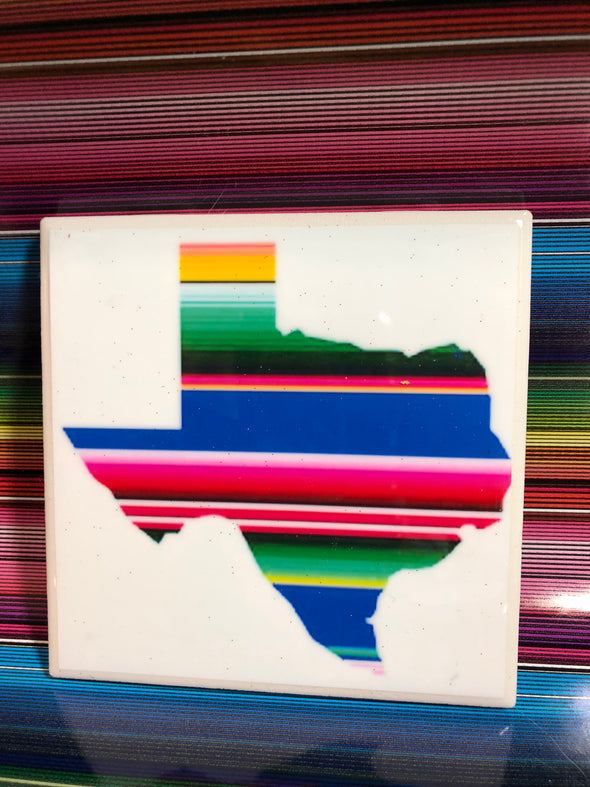 Texas Sarape Tile | Coaster | by VeryThat