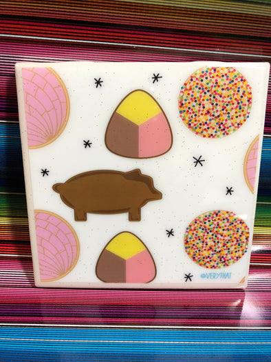 Pan Dulce Tile | Coaster | by VeryThat