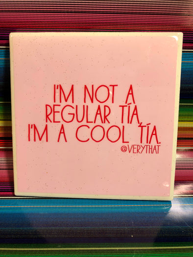 Cool Tia Tile | Coaster | by VeryThat
