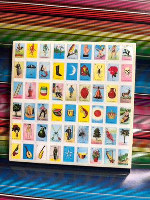 Loteria Coaster by VeryThat