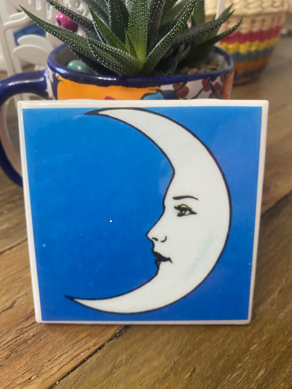 La Luna Tile / Coaster by VeryThat