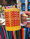 Como Chingas Yellow & Red Mug
