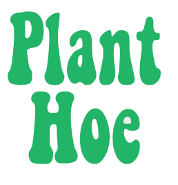 Plant Hoe Vinyl Decal
