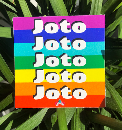 Joto Rainbow Sticker by Very That  | 3x3"