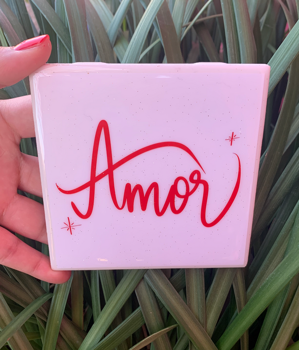 Amor Tile | Coaster | by VeryThat