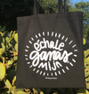 Échale Ganas, Mija Black and White  tote bag by Very That