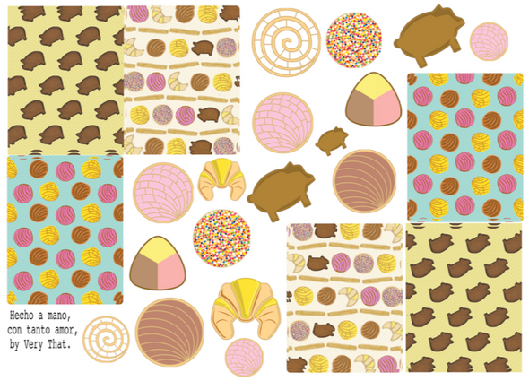 Pan Dulce Sticker Sheet/Planner Stickers by Very That