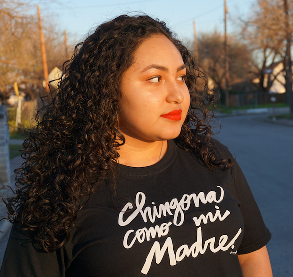Chingona Como Mi Madre T shirt by Very That | Soft Style Tee | Chingona Tee