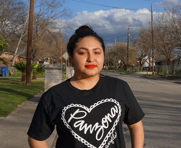 Black and White Panzona Power Tee #panzapower