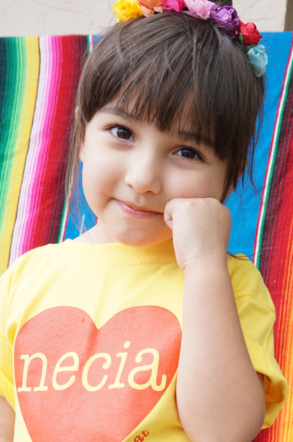 Necia Kids Tee (Yellow)