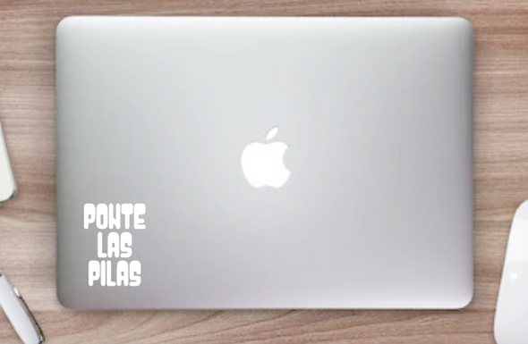 Ponte Las Pilas Bubbly Vinyl Decal