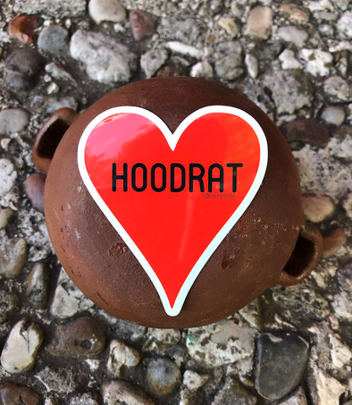 Hoodrat Heart Sticker