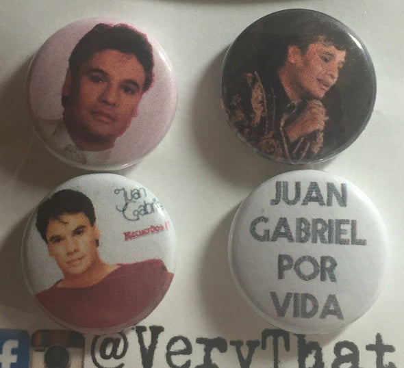 Juan Gabriel Forever Button Pack by VeryThat