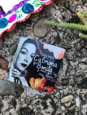 Maria Felix Bonita y Cabrona Sticker by Very That  | 2 x 2"