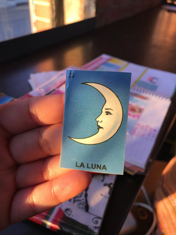 La Luna Sticker | Water Resistant Sticker | Vinyl