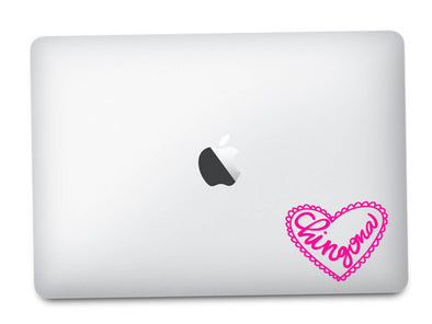Chingona Heart Corazon Vinyl Transfer | Car Decal | Laptop Sticker by Very That --- Bumper sticker | vinyl Transfer | Yeti Sticker