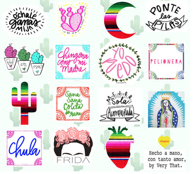 Very That Multi Pack Sticker Sheet by Very That | EC Planners | Passion Planner | Very That Stickers