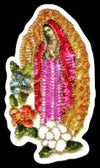 Virgencita Sequins Sticker by Very That  weather / waterproof perfect for your journals, planners, bike, car, etc!
