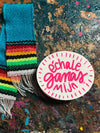 Echale Ganas Mija Sticker in PINK!!! by Very That --- Bumper sticker / journal or planner stickers