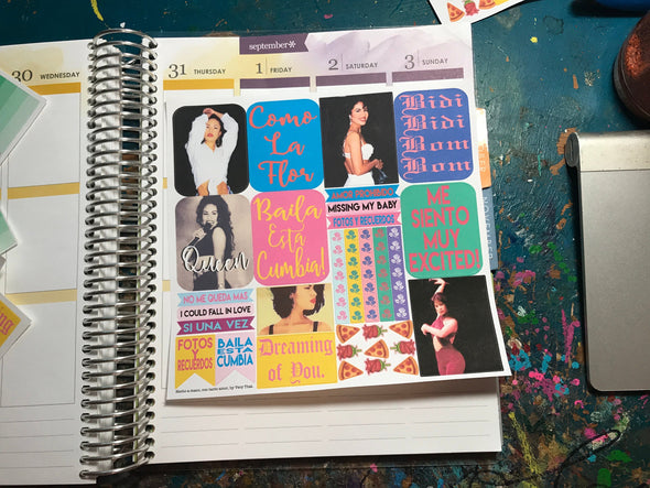 Muy Excited Sticker Sheet by Very That | EC Planners | Passion Planner | Very That Stickers