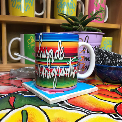Hija de Inmigrantes ug by Very That | Full Color Mug | Chingona | Latina