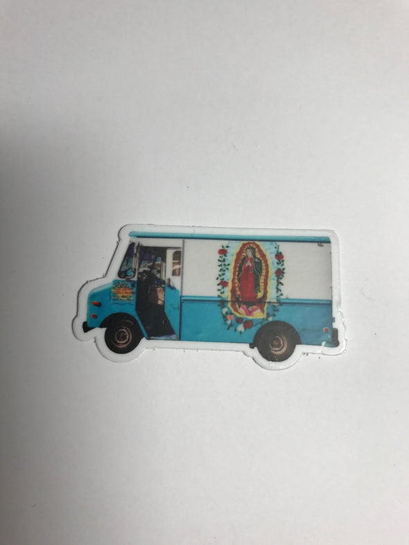 Raspa Truck Sticker by Very That  weather / waterproof perfect for your journals, planners, bike, car, etc!