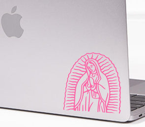 La Virgen Vinyl Cut Sticker for your Laptop, bumper, wall etc! By Very That