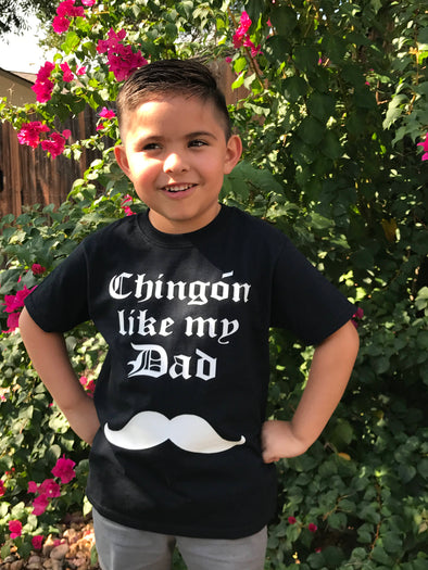 Chingona like my Dad Tee and Onesie by Very That | Baby onesie, personalized name baby onesie, custom onesie, Baby shower gift