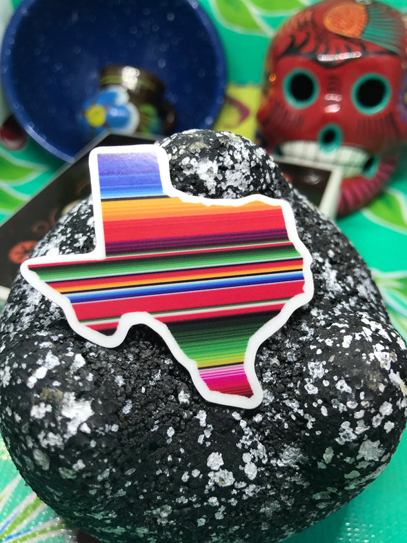 Texas Serape Sticker by Very That  | 2 x 2"