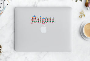 Nalgona Sticker in Old English Vinyl Sticker | Transfer Car Decal | Laptop Sticker by Very That Bumper sticker  | Yeti Sticker