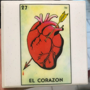 El Corazon / coaster by Very That | water resistant