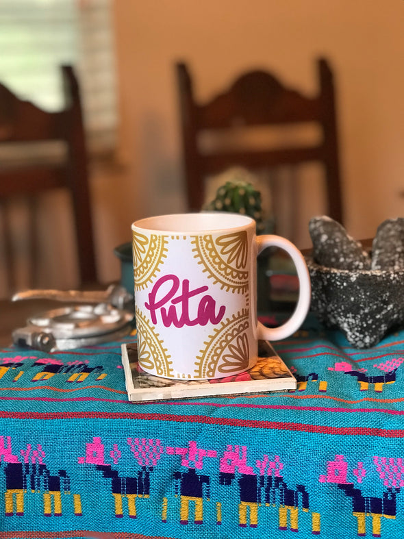 Puta Power Mug by Very That | Full Color Mug | Chingona | Latina