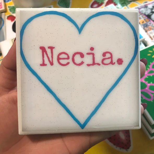 Necia coaster / tile by Very That