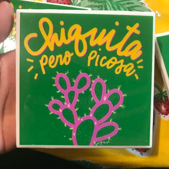 Chiquita Pero Picosa coaster / tile by Very That