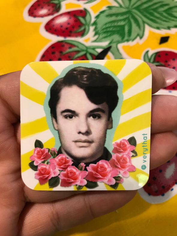 Juan Gabriel El Divo Sticker by Very That 2x2 inches, weather / waterproof perfect for your journals, planners, bike, car, etc!