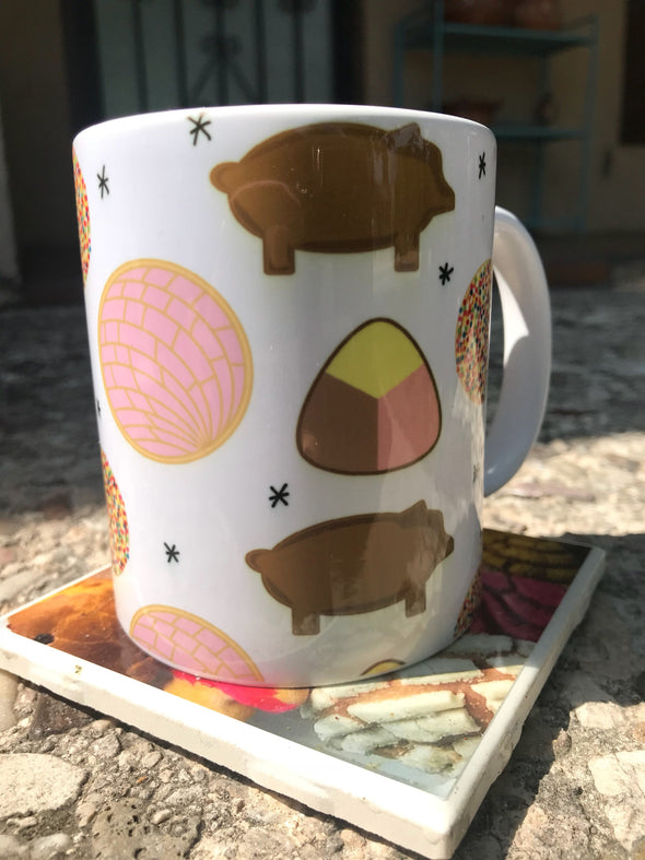 Pan Dulce Mug by Very That | Full Color Mug | Chingona | Latina