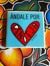 Andale por Pendeja Tile | Coaster | by VeryThat == water resistant, y shiny!
