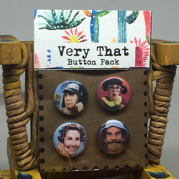 Chespirito / La Vecindad Button Pack