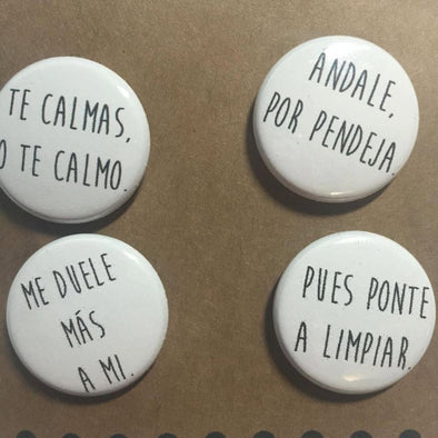 Ay Mami Button Pack