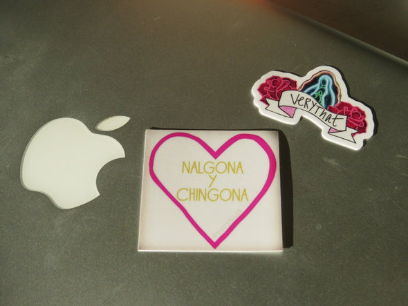 Nalgona y Chingona Sticker- by Very That