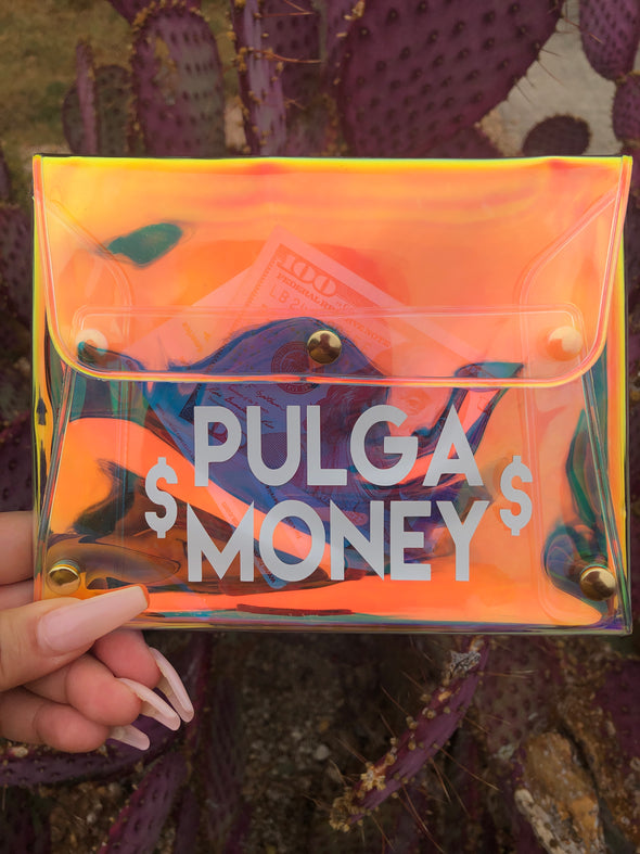 Pulga Money Hollo Clutch
