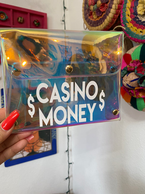 Casino Money Hollo Clutch
