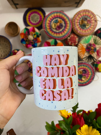 Hay Comida en la Casa Mug by Very That | Full Color Mug | Chingona | Latina