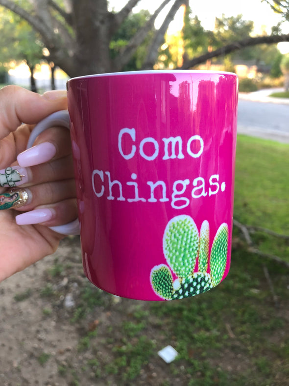 Como Chingas Mug by Very That | Full Color Mug | Chingona | Latina