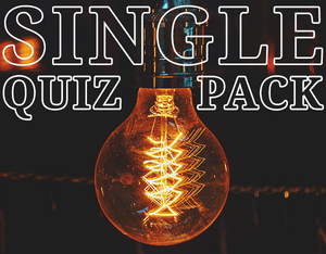 Single Quiz Pack - Week of Oct 14, 2019