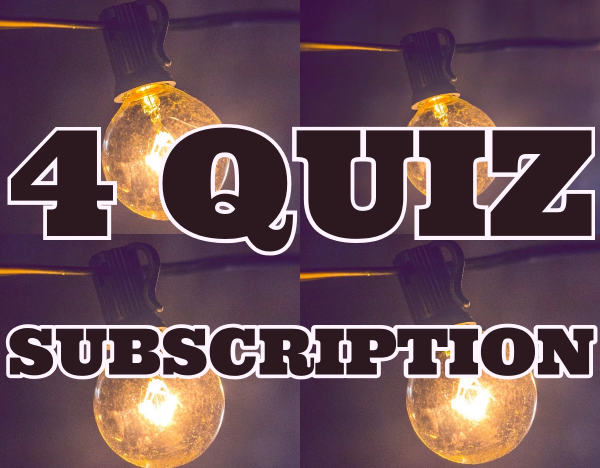 One Month Subscription - 4 Quizzes